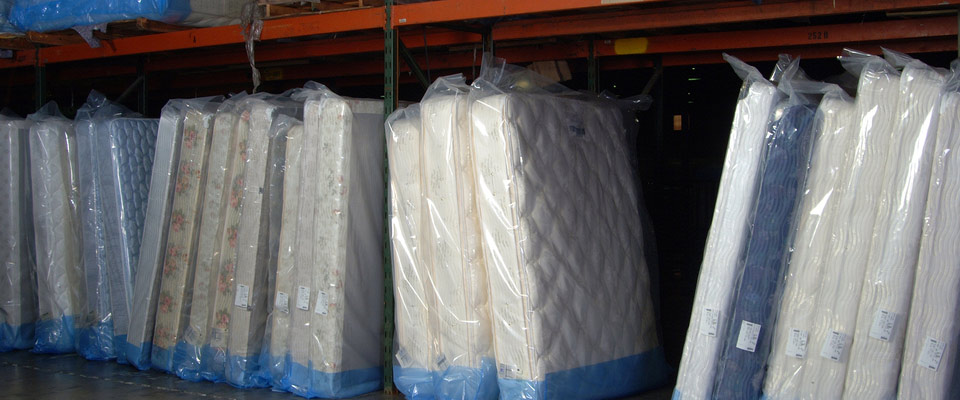Machine Wrapped Mattresses
