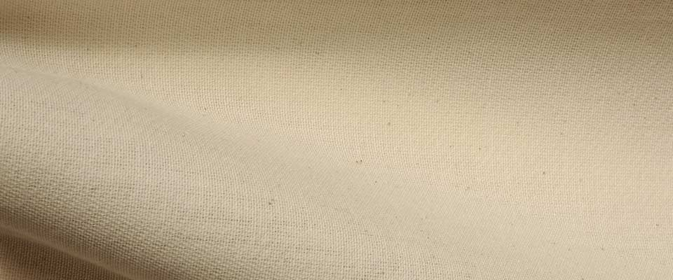 Natural Loomstate Cotton Fabric